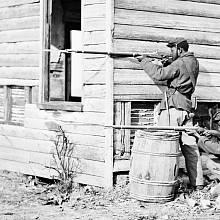 Vojáci tmavé pleti v bojích americké občanské války