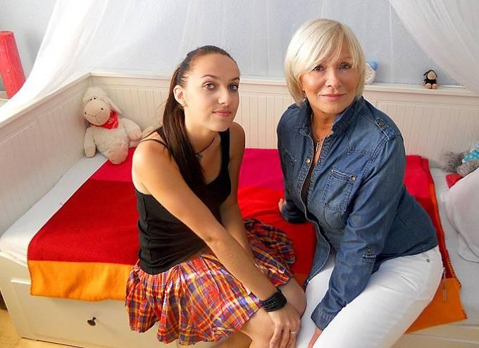 Hana Čížková s dcerou Janou