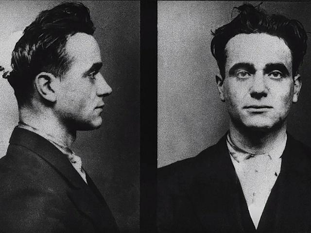 Sériový vrah Eugen Weidmann na policejních snímcích