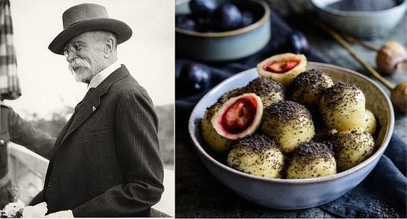 Tomáš Garrigue Masaryk si na složitá jídla příliš nepotrpěl