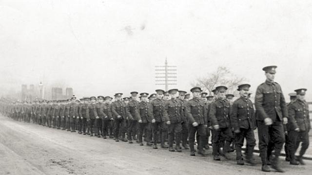 Bantam jednotky za první světové války