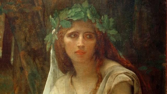 Romantická představa druidky jako mladé ženy není přesná.
