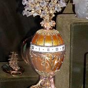 Jedno z vajec, která zručný klenotník Fabergé vyráběl.