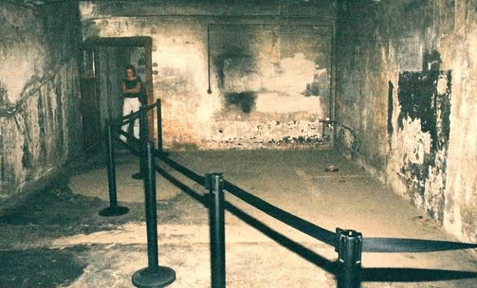 Plynová komora v Osvětimi