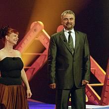 Bára Štěpánová a Vladimír Čech v pořadu Barymetr
