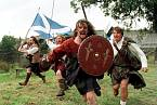 Gibsonův hrdina se připomněl při oslavách u příležitosti skotského referenda