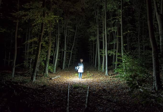 Několikrát byl z nedalekého lesa slyšen dětský pláč.