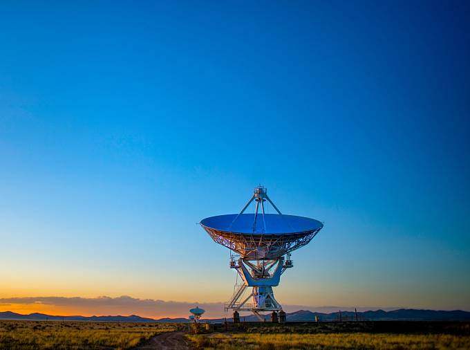Teleskop v Novém Mexiku