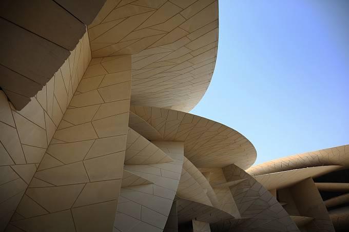 MUZEUM PRO ŠEJKY. Nejlepším středně velkým projektem budoucnosti se stala budova nového muzea v Kataru.