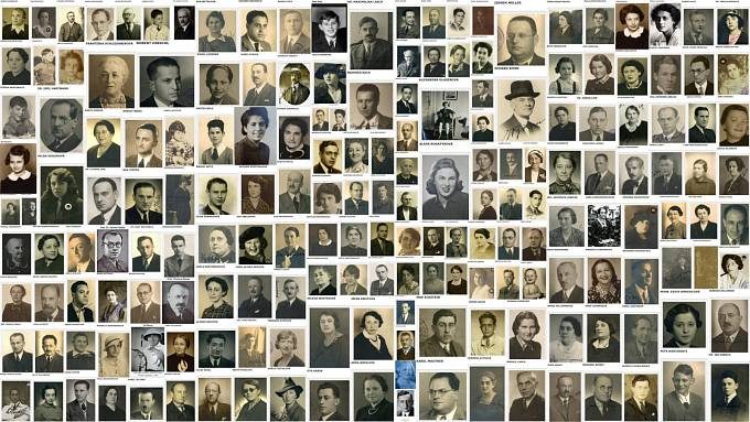 Vedle péče o Kameny zmizelých buduje Trevor Sage online databázi fotografií a osudů obětí holocaustu