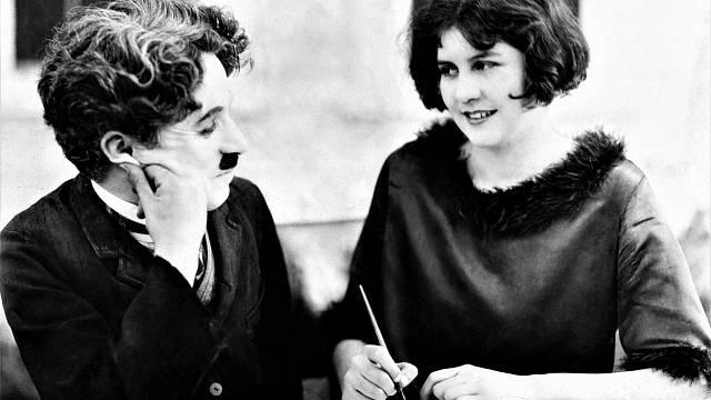 Charlie Chaplin s druhou manželkou Litou Grey