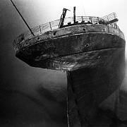 Vrak Titanicu odpočívající na dně oceánu