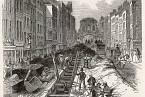 První kanalizační systém v Londýně