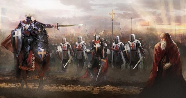 Templáři prosluli jako mimořádně zdatní bojovníci.