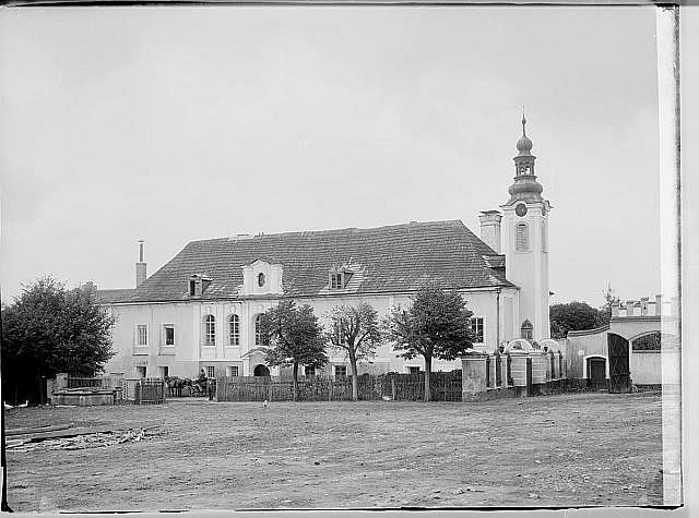 Kaizlův zámeček vMyslkovicích uSoběslavi, kde významný český politik 19.srpna 1901zemřel