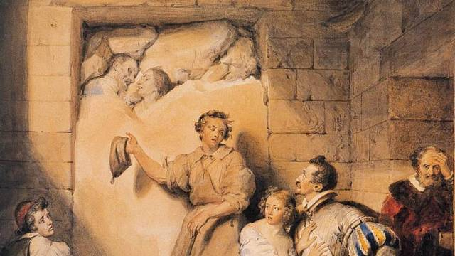 Zazdívání zaživa bylo jednou z nejkrutějších metod mučení