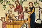 Věřilo se, že víno povzbuzuje zdraví.