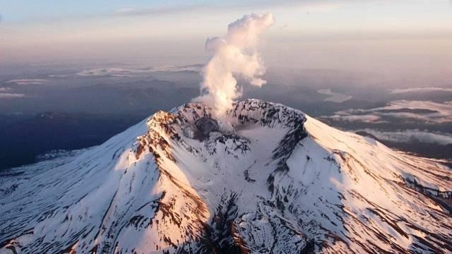 Sopka Hora sv. Helena