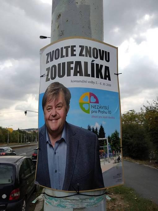 Kandidát Zoufalík pobavil hlavně voliče v Praze 10, kteří jeho jméno považují za nomen omen