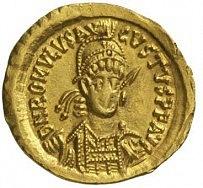 Mince svyobrazením posledního západořímského císaře Romula Augusta