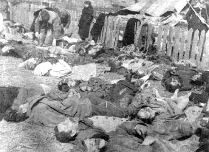 masakr v polské vsi Lipikač, rok 1943, dílo banderovců
