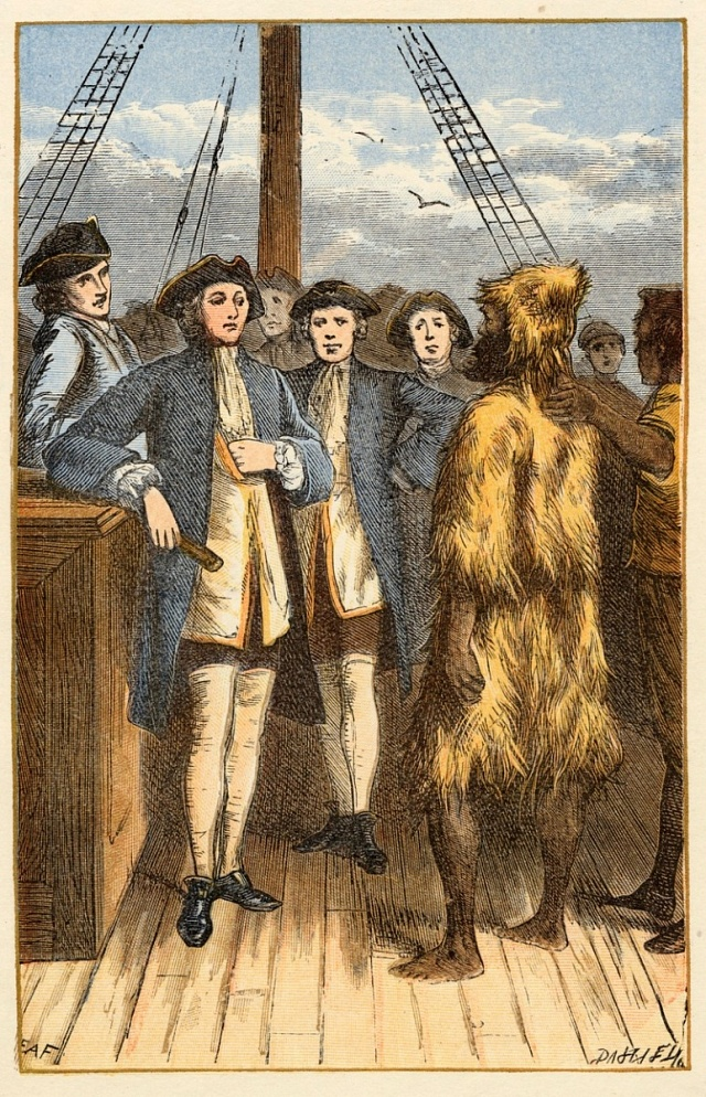 Selkirk zachráněn anglickou lodí