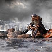 Vikingský středověký válečník