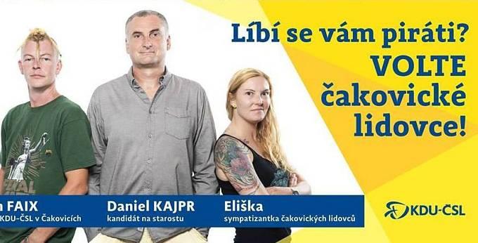 KDU-ČSL se zkouší zalíbit voličům Pirátů