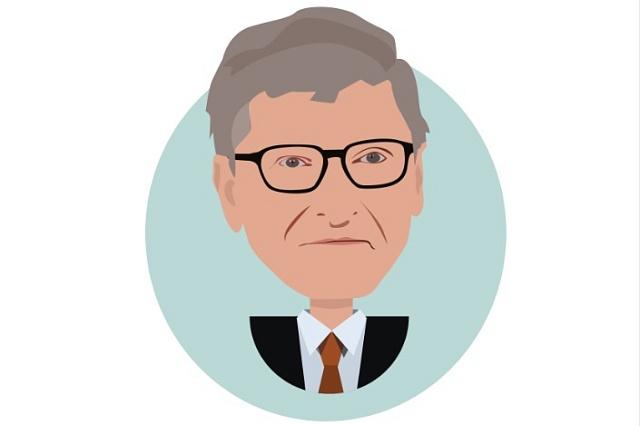 Bill Gates. Nejbohatší člověk na světě.