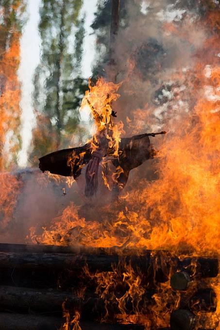 Odsouzení k smrti upálením bylo v minulosti zcela běžné.
