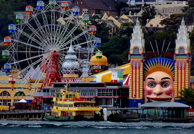 Lunapark v Sydney