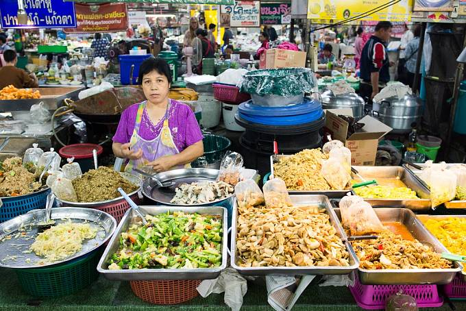 V gastronomii se Thajsku vyrovná asi jen Vietnam a Tchaj-wan.