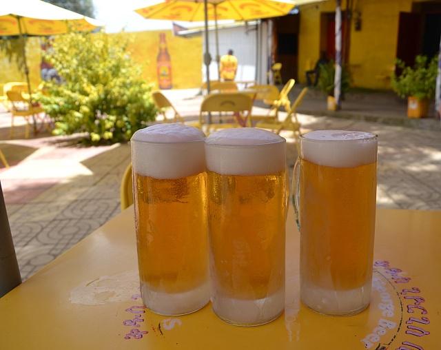 Nejrozšířenější etiopské pivo St. George je charakteristické svojí žlutou barvou. Stalo se izajímavým vývozním artiklem.