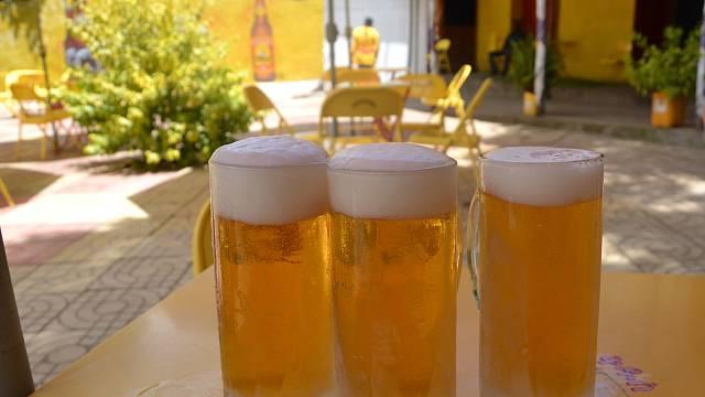 Nejrozšířenější etiopské pivo St. George je charakteristické svojí žlutou barvou. Stalo se i zajímavým vývozním artiklem.
