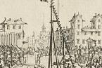 Estrapáda jako způsob popravy byla ve Francii praktikována až do konce 17. století.