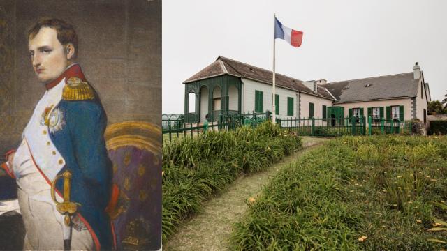 Longwood, vila, kde Napoleon Bonaparte strávil zbytek života