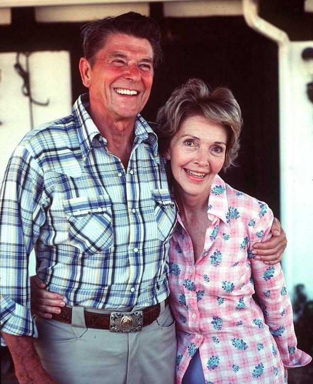 Ronald Reagan smanželkou Nancy