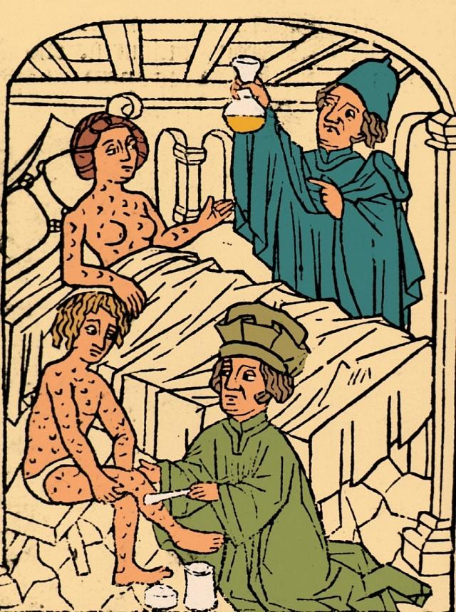 Syfilidní pacienti, 1497