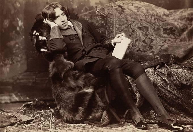 literát a dramatik Oscar Wilde