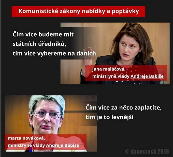 Bizarní uvažování ministryně Novákové pobavilo internet