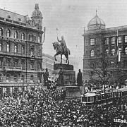 28. října 1918, Václavské náměstí, Praha