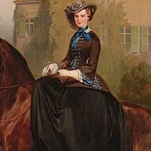 Sisi zbožňovala jízdu na koni.