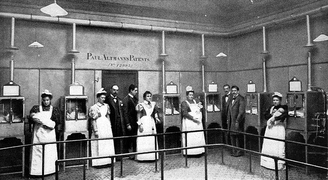 Dětské inkubátory z 80. let 19. století