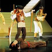 Inscenace Jánošík, Balet ŠD Košice