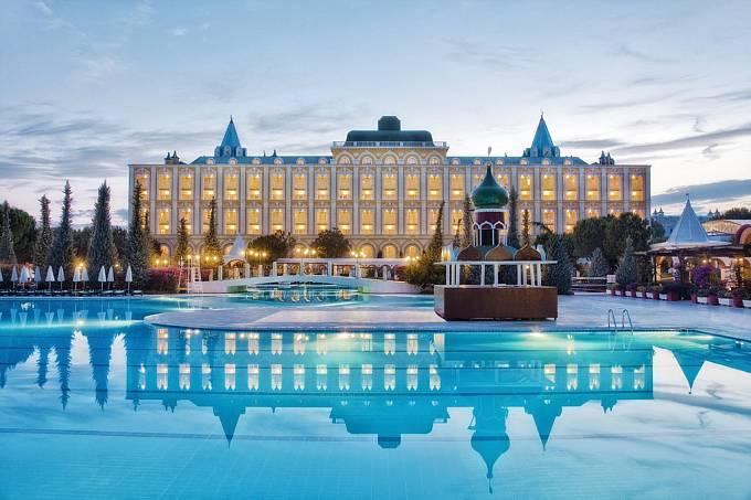 Tak nějak asi vypadal Velký Kremelský palác během válečných nocí, kdy v carských komnatách úřadoval diktátor Stalin.