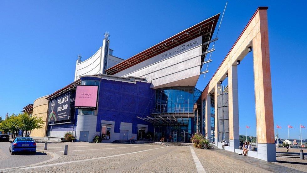 Neotřelý design má i operní dům v Göteborgu, který byl slavnostně otevřen v roce 1994.