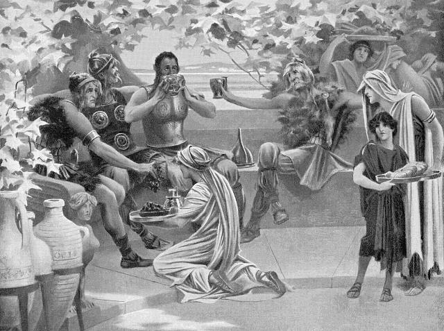 život otroků ve starém Římě