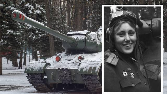 Alexandra Samušenko sloužila u 1. gardové tankové armády.