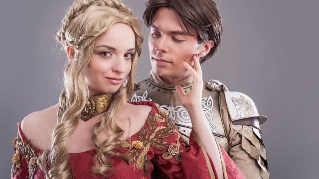 Láska ve středověku - ilustrační foto