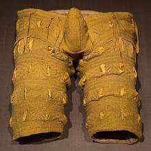 Renesanční kalhoty vystavené v Drážďanech